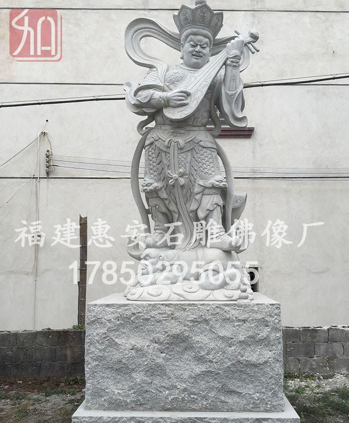 石雕四大金刚雕塑,福建石雕厂家